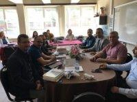 Yenice Milli Eğitim Müdürü Baykal, öğretmenlerin taleplerini dinledi