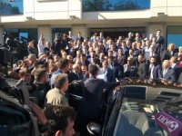 Sağlık Bakanı Koca, MHP Lideri Bahçeli'yi ziyaret etti