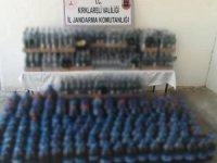 Evden çıkan bin 597 litre kaçak içki şok etti