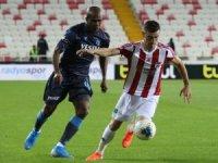 Süper Lig: Demir Grup Sivasspor:1 - Trabzonspor:1  (İlk yarı)