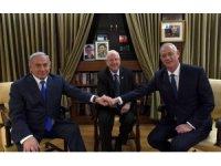 İsrail Cumhurbaşkanı Rivlin, Gantz ve Netanyahu ile görüştü