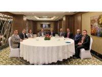 MEB ve eğitim sendikası başkanları bir araya geldi