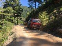 Asmaca Yolu asfalta hazırlanıyor