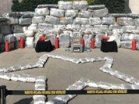 İstanbul'da zehir tacirlerine dev operasyon... Tam  1 ton 881 kilogram uyuşturucu ele geçirildi...