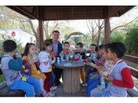 Başkan Ercengiz, Hayvanları Koruma Gününü öğrencilerle kutlandı