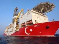 'Yavuz' gemisi, Doğu Akdeniz'de sondaja başlıyor