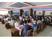 Silopi'de din görevlileri yemekte buluştu