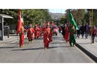Kırıkkale'de 'Amatör Spor Haftası' kortej yürüyüşü ile başladı