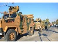 Sınır hattına 50 araçlık askeri sevkiyat