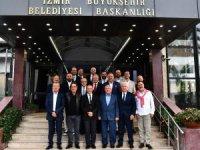 İzmirli kulüp başkanları, Tunç Soyer ile buluştu