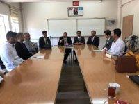 Müdür Engin'den, Milli Eğitim Vakfı Fatih ortaokuluna ziyaret