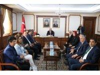 TBMM Meclis Araştırma Komisyonu Üyeleri Vali Akın'ı ziyaret etti