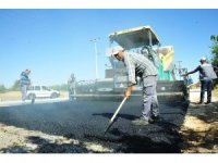 Karaman Belediyesi kış öncesi yollarda bakım ve onarım çalışması yapıyor
