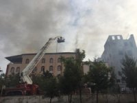 Siirt'te Kur'an kursu binasında yangın: 80 öğrenci tahliye edildi