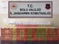 Bolu'da, kaçak tütün operasyonu: 3 gözaltı