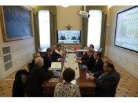 Trakya Üniversitesi Rektörü Tabakoğlu Macaristan'da temaslarda bulundu