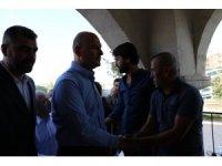 Bakan Soylu, Mardin'de sivil şehit yakınları ile bir araya geldi