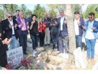 Mustafa Yolyapar 5. ölüm yıl dönümünde kabri başında anıldı