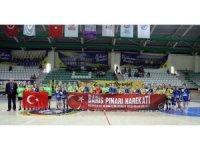 Parkenin başaklarından Barış Pınarı Harekatına pankartlı destek