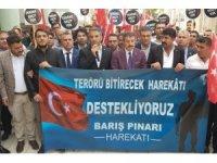 """Şırnak'taki STK'lar: """"Terörü bitirecek harekatı destekliyoruz"""""""