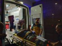 Freni patlayan tırdan atlayan sürücü ölümde kurtuldu