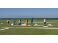 Trapçılar 'Salihli Güz Kupası'nda yarıştı
