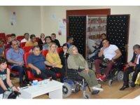 DÜ Tıp Fakültesi Hastanesi engellilerle buluştu