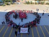 Yozgat'ta öğrencilerden Barış Pınarı Harekâtı'na destek