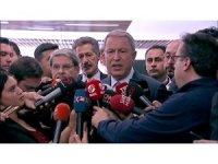 """Milli Savunma Bakanı Hulusi Akar: """"YPG'lilerin DEAŞ'lıları kaçırdığını tespit ettik."""""""