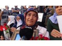 HDP önündeki ailelerin evlat nöbeti 42'nci gününde