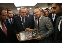 Sarıçam'dan Cumhurbaşkanı Erdoğan'a anlamlı hediye
