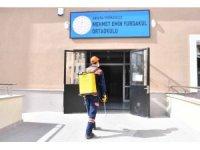 Ankara Büyükşehir Belediyesi ilaçlama çalışmalarını aralıksız sürdürüyor