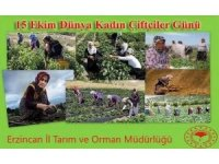 """Şahin'den """"15 Ekim Dünya Kadın Çiftçiler Günü"""" kutlama mesajı"""