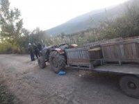 Traktör üzerinde ölü bulundu