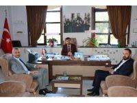 Başkan Biçer'den Müftü Aydın'a ziyaret