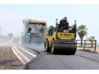 Mersin Büyükşehir, 6 ayda 54 bin ton asfalt döktü