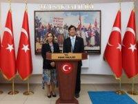 Japonya Büyükelçisi Uşak'ta 'Japonya'da Kültür ve Eğitim' sunumu gerçekleştirdi