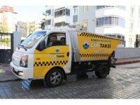 """İlkadım 'da """"Alo Çöp Taksi"""" hizmete girdi"""