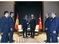 Cumhurbaşkanı Erdoğan, Kırgız mevkidaşı Ceenbekov ile görüştü