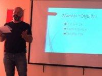 İslahiye MYO'da zaman yönetimi konferansı