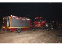 Mersin Erdemli'de orman yangını
