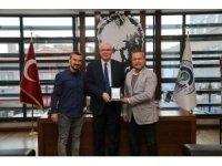 Kırkalılar Kültür Dayanışma ve Yardımlaşma Derneği'nden Başkan Kazım Kurt'a teşekkür ziyareti