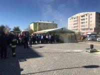 Horasan'da yangın tatbikatı