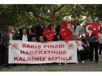 KYÇ Polis Emeklileri Derneğinden Barış Pınarı Harekatı'na destek