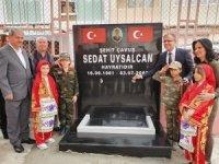 Şehit Sedat Uysalcan'ın adı okul çeşmesinde yaşatılacak