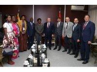 Şentop, Kongo Meclis Başkan Vekili Ntita ile görüştü