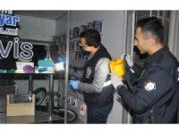 Bafra'da iş yerinden telefon hırsızlığı
