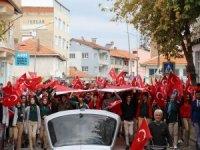Altıntaşlılardan Barış Pınarı Harekatı'na destek