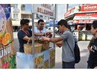 Tarsus Belediyesi, Dünya Gıda Gününde stant açtı