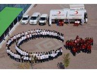 Öğrencilerden Barış Pınarı'na ay yıldız kareografisi ile destek